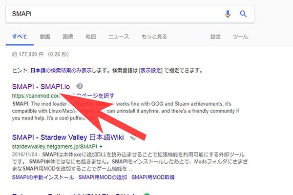 SMAPI導入方法