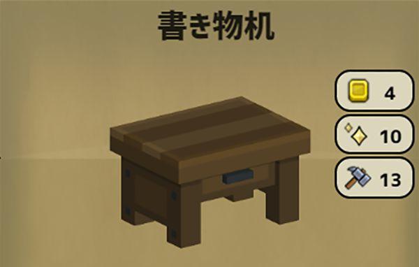 Stone Hearthの書き物机