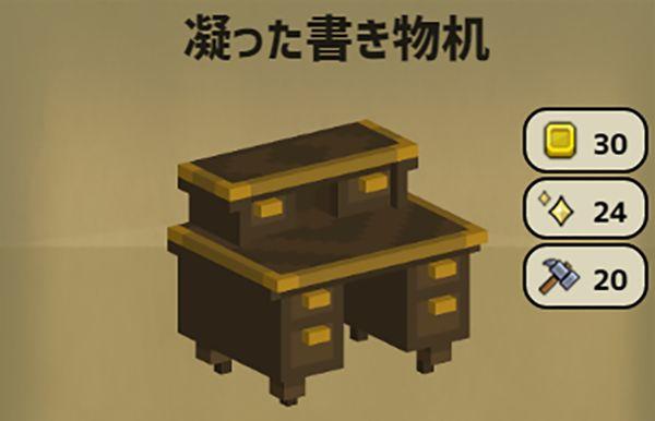 Stone Hearthの凝った書き物机