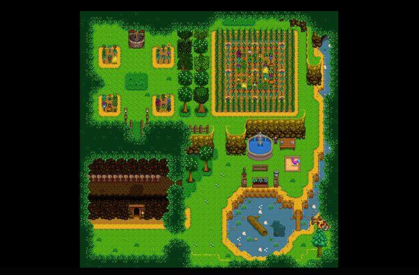 温室を拡張するMOD「Secret Gardens Greenhouse」 MOD Stardew Valley