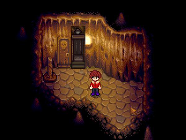 砂漠の洞窟にエレベーターを追加するMOD「Skull Cavern Elevator」 Stardew Valley MOD