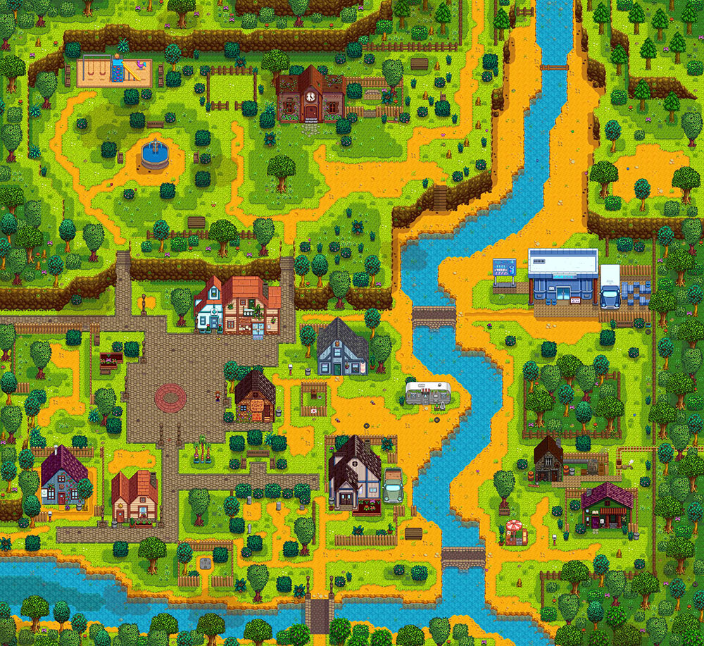 【Stardew Valley】マップ全体のスクショなどが撮れるMOD「Map Image Export」