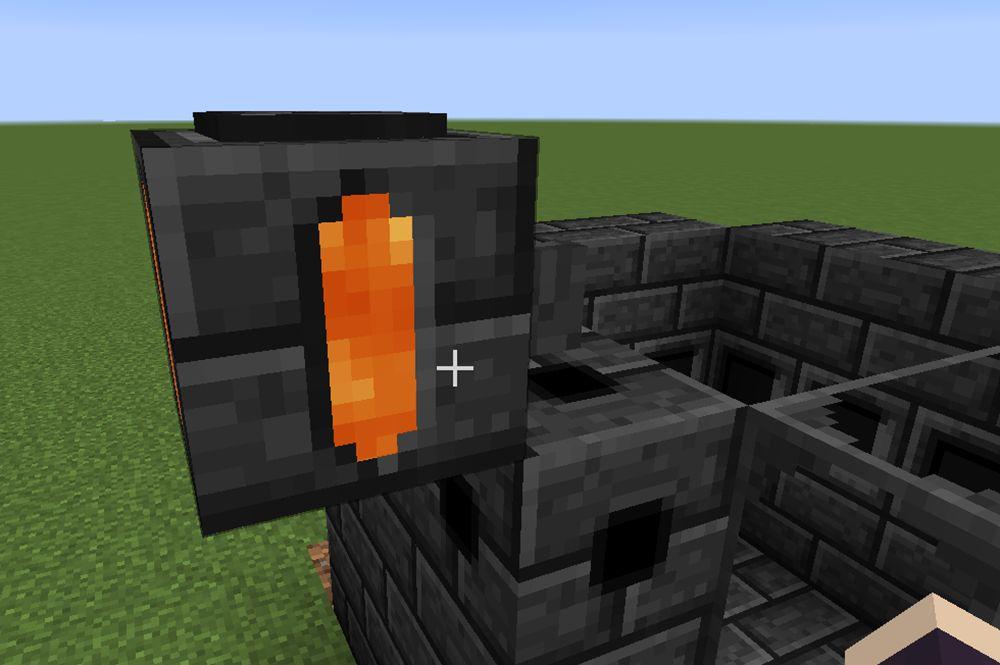 Tinkers Constructの乾式製錬炉での液体の入れ方