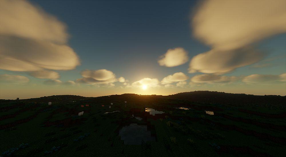 Chocapic13's Sheadersを導入して撮った景色
