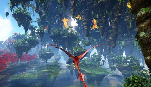 【ARK】クリスタルを基調とした幻想的なバイオームが混在するマップ「ISO:Crystal Isles」について(mod版)