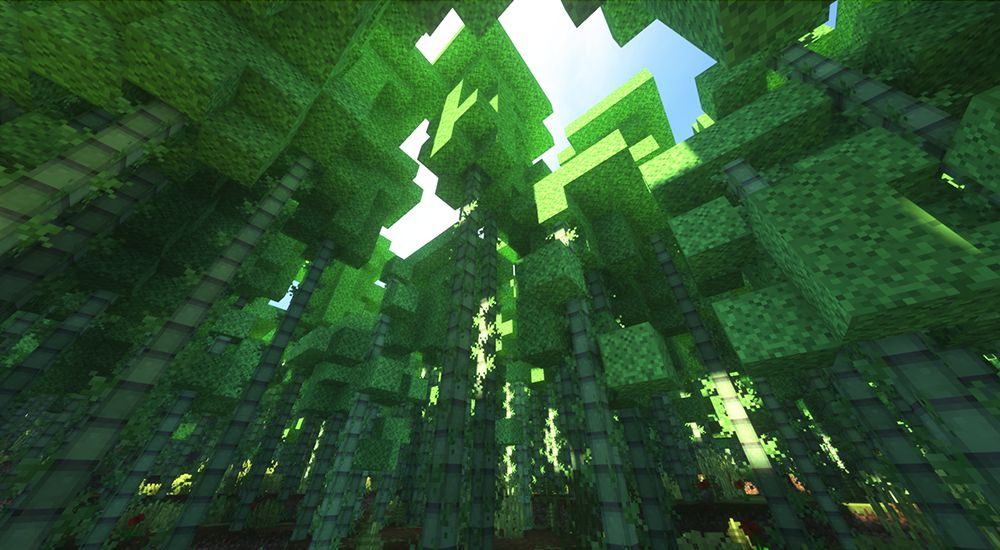Sonic Ether's Unbelievable Shaders(SEUS)を導入して撮った景色