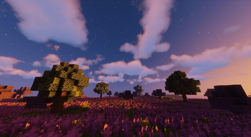 Sildurs Vibrant Shadersを導入して撮った景色