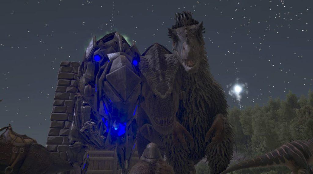 ティラノサウルスとユーティラヌス