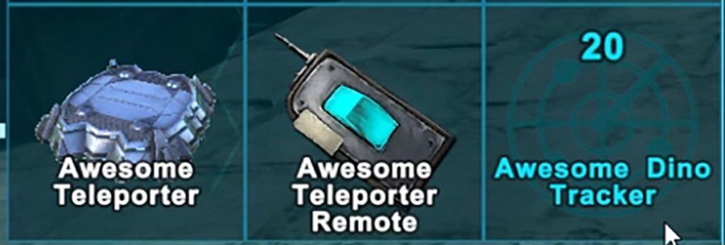 Awesome Teleporters!のレシピ