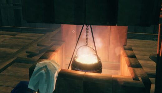 【Valheim】作業台・鍛冶場・大鍋・ハチの巣・発酵樽などのクラフトについて